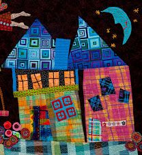 "I love ""Wonky House"" quilts!"