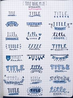 Uploaded by jhanny. Find images and videos about title, school and notes on We Heart It - the app to get lost in what you love.