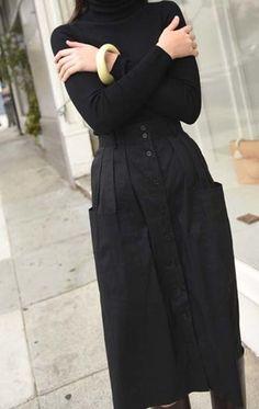 Anaïse   Sea Cargo Skirt, Black