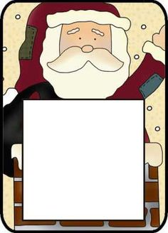 Santa Post It Pattern--- http://www.northpolechristmas.com/Christmas-post-its.html