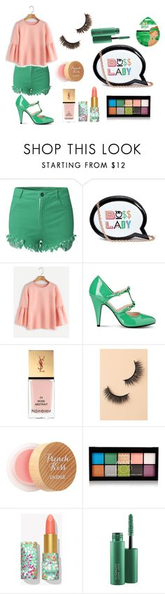 """""""Like a boss - kawaii ;)"""" by lujzazsu ❤ liked on Polyvore featuring Sophia Webster, Boutique Moschino, Yves Saint Laurent, Battington, Caudalíe, NYX, MAC Cosmetics, SkinCare, Spring and cute"""