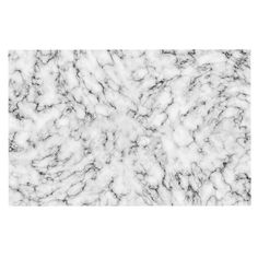 KESS InHouse will Wild 'Marble' White Gray Dog Place Mat, 13' x 18' ** Find out more details by clicking the image