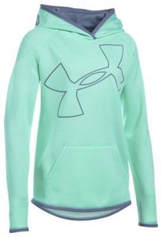 Under Armour Novelty Highlight Hoodie for Girls - Crystal/Aurora Purple - XS