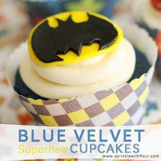 Sprinkled with Flour: Superhero Birthday Party