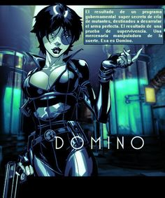 Domino Comics | Domino - Comic Concept by ~ DiegHoDesigns