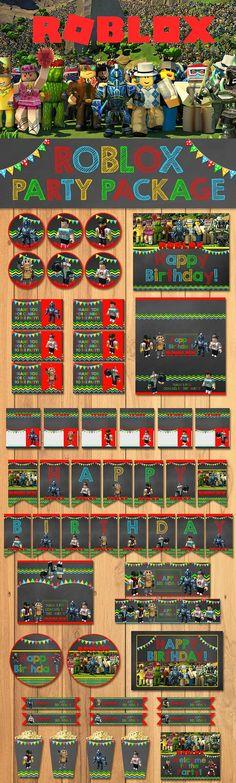 80 Mejores Imágenes De Roblox Party Cumpleaños Fiesta Y - roblox game creator id in roblox red wall