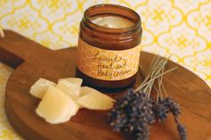 Lavender Beeswax Hand Cream Recipe by Leann Coleman and Jayne Barnes, Mother Earth Living Aug. 2013
