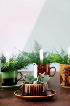 Mini kerststukjes vo
