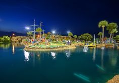 Miniature Golf - day or night in Myrtle Beach, South Carolina!  The beach that always has family fun to do for kids of all ages!  http://www.visitmyrtlebeach.com/things-to-do/