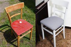 jak odnowić krzesło