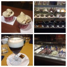 Dolce in Italy! We are enjoying gelato, cafés, and sweet pastries while working hard to build Roc Me Out online boutique!