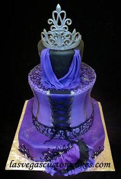 It's a Malificent cake!