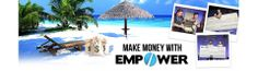 Empower network is home based business for mom in which the women can earn money from home by providing online services. You can earn a lot from such business and fulfill your family financial needs. Money From Home, Make Money Online, How To Make Money, Mobile Marketing, Internet Marketing, Media Marketing, Marketing Branding, Creating Wealth, Video Contest