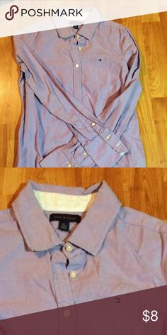 d03e3cead030 Oxford Shirt Oxford shirt. Lavender. White accents under cuff and side  cutouts. Striped