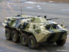 Ejército Colombiano BTR-80 Caribe (solamente 1 unidad en uso, se ha cancelado el proyecto)