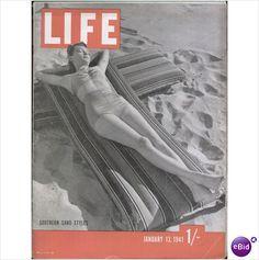 US MAGAZINE LIFE JAN 13 1941 Tilleys of Sheffield
