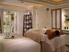 """Equipped with """"top-notch"""" staff and eleven private treatment rooms, the Four Seasons Resort Palm Beach Spa specializes in stress-busting services spotlighting the healing qualities of the sea. While all hotel guests receive complimentary access to the spa's sauna, whirlpool, steam room, and relaxation areas, treatments like the Stone Massage, Blue Lotus Facial, and Marine Algae Wrap are worth the splurge. Book the full-day spa and beach retreat for a 50-minute spa offering of your choice…"""