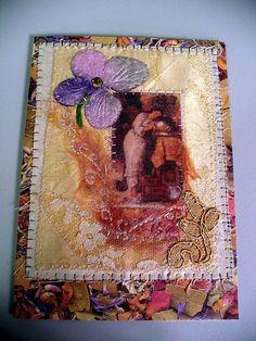 Fabric Art Card