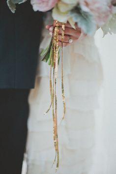 Sparkle around bouquets