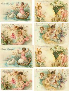 Ангелочки. Картинки для открыток и декупажа. Обсуждение на LiveInternet - Российский Сервис Онлайн-Дневников