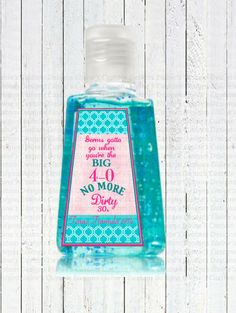 Mini hand sanitizer label template instant download psd png and personalized hand sanitizer labels perfect for favors in a kind of party bridal shower pronofoot35fo Images