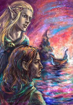 """Farewell to Boromir by jesterry.deviantart.com on @deviantART - Scene from """"Lord of the Rings"""""""