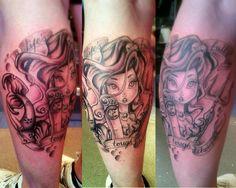world disney tattoos – Tattoo Library Mouse Tattoos, New Tattoos, Cute Disney Tattoos, Disney Castle Tattoo, Tattoo Fails, World Tattoo, Disney World Parks, Tiki Room, Inked Magazine