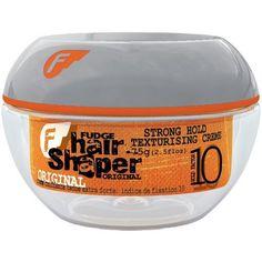 Fudge Hair Shaper Strong Hold Texturising Creme 75g Fudge http://www.amazon.co.uk/dp/B001R4CPGA/ref=cm_sw_r_pi_dp_mV7qub172MP2A