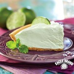 Lime Cream Pie from Eagle Brand