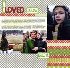 Great post by Amy Sorensen on quality journaling.  Layout by Celeste Smith @ writeclickscrapbook.com