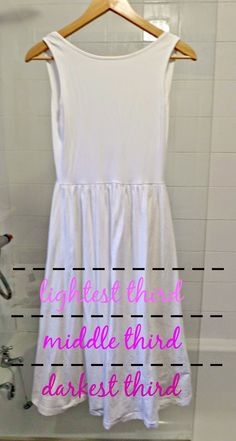 Lauren Loves... Fashion, Beauty and Lifestyle Blog: DIY Tutorial: Valentines Ombre Dip Dye Dress Makeover with Dylon Dye