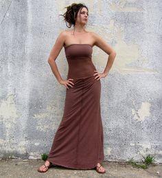 Long Warrior Love Me 2 Times Dress/Skirt (hemp/organic cotton knit)