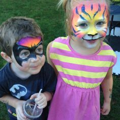 BatBoy and Tiger Girl!!