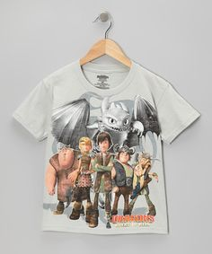 Take a look at this Silver How to Train Your Dragon Tee - Kids by Freeze on #zulily today!