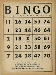 We had a packed house for bingo tonight, time flew by and many tip boards were sold. Vintage Labels, Vintage Ephemera, Vintage Paper, Vintage Ads, Vintage Images, Free Printable Bingo Cards, Printable Paper, Printable Vintage, Free Printables