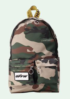 Discover Virgil Abloh's take on street fashion. Off-White has been defining the grey area between black and white since and has become an iconic brand for millennials Monogram Jacket, S Monogram, My Bags, Purses And Bags, Off White Bag, Urban Gear, White Backpack, Herschel Heritage Backpack, Cool Items