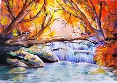 Autumn Painting - Peisaj de toamna