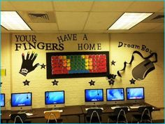 computer lab decorations | Home Build Designs