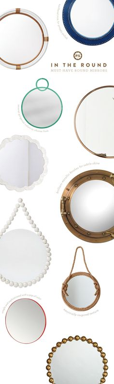 Round Mirror roundup