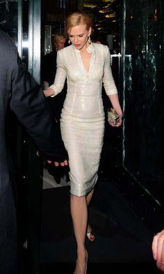 Nicole Kidman leaving the Ivy in London