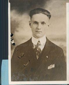 1927 Photo Culver Chamberlain US Vice Consul Swatow China American Crisis Rare