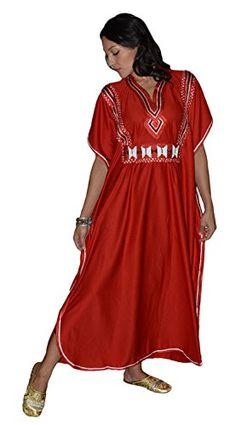 Townswomen - Moroccan Caftans Womens Ladies Embroidered Long Length One size Kaftan Red Moroccan Caftans http://www.amazon.com/dp/B00AJ4BK1U/ref=cm_sw_r_pi_dp_9mmXwb1634SQS