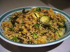 Balsamic Quinoa with Roasted Autumn Vegetables | Queen of Quinoa | Gluten-free + Quinoa Recipes