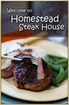 Homestead Steak House in Timberlake, NC, next to Roxboro, NC- surprisingly good food, large enough to host special events