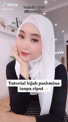 Ways To Wear A Scarf, How To Wear Scarves, Hijab Style Tutorial, Hijab Fashion, Shawl, Islam, Makeup, Tips, Model