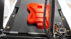 printed with by Robot Factory, 3d Photo, 3d Printing, Guitar, Photo And Video, Printed, Learning, Videos, Impression 3d