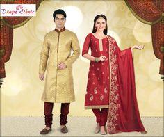 Red is the Colour of Season. Come and take a Plunge.  For More Visit : www.drapeethnic.com  #DrapeEthnic
