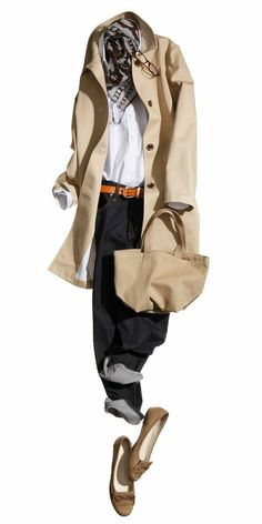 cannot find this real classic long trenchcoat. Fall Outfits, Casual Outfits, Fashion Outfits, Womens Fashion, Petite Fashion, Curvy Fashion, Fashion Over, Work Fashion, Style Fashion
