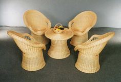 Плетеная мебель для кукол (Идеи). Обсуждение на LiveInternet - Российский Сервис Онлайн-Дневников