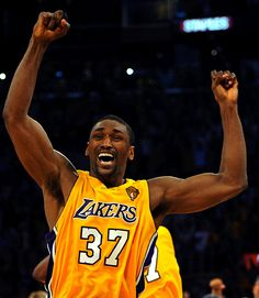 fbfe6077d Metta World Peace.changed your name to distract people from your lack of  talent.